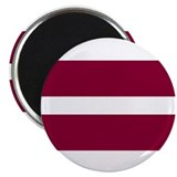 Flag of Latvia Magnet