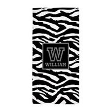 Custom Monogram Beach Towel