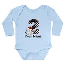 2nd Birthday Dalmatian Body Suit