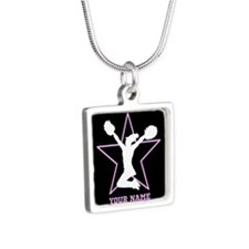Cheerleader Pink and black Necklaces