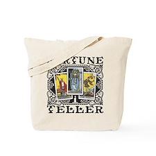Fortune Teller black Tote Bag