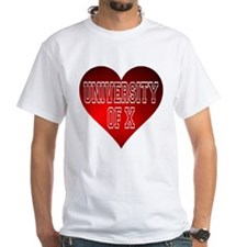 Generic University Heart T-Shirt