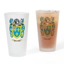 Pollock Coat of Arms (Family Crest) Drinking Glass