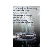 Serenity Prayer -Rectangle Magnet