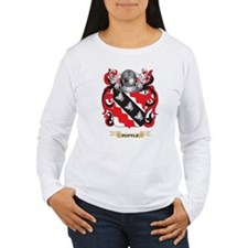 Popple Coat of Arms (Family Crest) Long Sleeve T-S