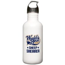Sheep Shearer (Worlds Best) Water Bottle