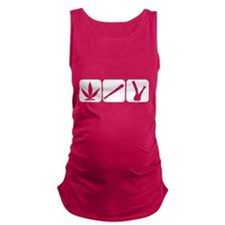 weed cannabis 420 t-shirt Maternity Tank Top