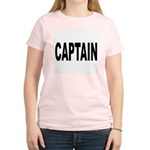 Captain Women's Pink T-Shirt