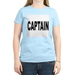 Captain (Front) Women's Pink T-Shirt