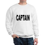 Captain (Front) Sweatshirt