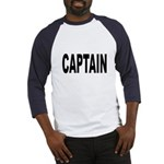 Captain (Front) Baseball Jersey
