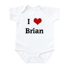 I Love Brian Infant Bodysuit