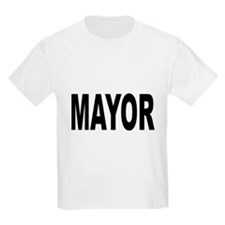 Mayor (Front) Kids T-Shirt