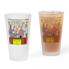 Zombie Improv Drinking Glass