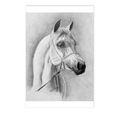 Cute Equines and wine Postcards (Package of 8)