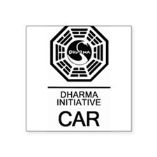 Dharma Initiative Car Sticker