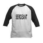 Sergeant Kids Baseball Jersey