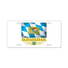 Bavaria (Flag 10).png Aluminum License Plate