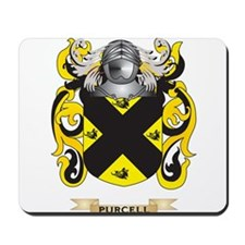 Purcell Coat of Arms (Family Crest) Mousepad