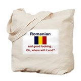 Good Looking Romanian Tote Bag