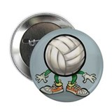 "Cute Volleyballer 2.25"" Button (10 pack)"
