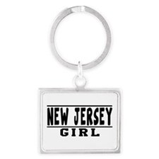 New Jersey Girl Designs Landscape Keychain