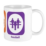 Eat Sleep Foosball Small Mug