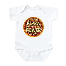 Pizza Power Infant Bodysuit