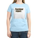 Survivor Reject Women's Pink T-Shirt