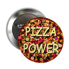 "Pizza Power 2.25"" Button (100 pack)"