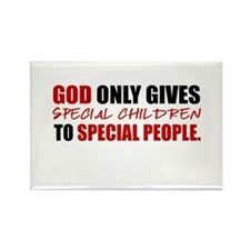 God Only Gives (Red) Rectangle Magnet (100 pack)