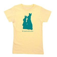 3-Metro Forest bunny.png Girl's Tee