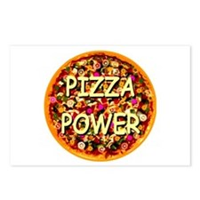 Pizza Power Postcards (Package of 8)