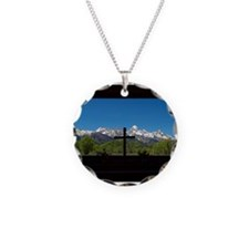 Chapel View of the Grand Tetons Necklace