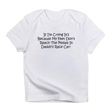 Funny Childrens race cars Infant T-Shirt