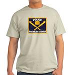 Samoa Police Ash Grey T-Shirt