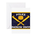 Samoa Police Greeting Cards (Pk of 10)