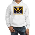 Samoa Police Hooded Sweatshirt