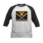 Samoa Police Kids Baseball Jersey