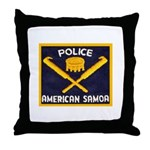 Samoa Police Throw Pillow