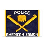 Samoa Police Postcards (Package of 8)