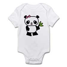 Cute Panda Infant Bodysuit