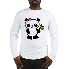 Cute Panda Long Sleeve T-Shirt