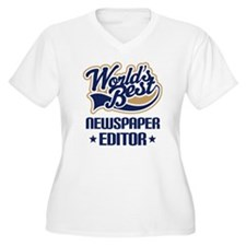 Newspaper Editor (Worlds Best) T-Shirt