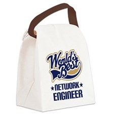 Network Engineer (Worlds Best) Canvas Lunch Bag