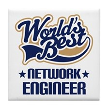 Network Engineer (Worlds Best) Tile Coaster