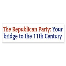 Republican Party: Your Bridge to the 11th Century