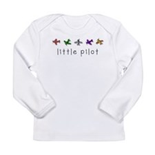littlepilot.png Long Sleeve Infant T-Shirt