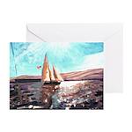 Full sail Birthday Cards (Pk of 10)