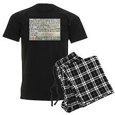 Music Manuscript Pajamas